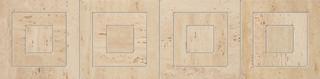 Travertine lišta 1P 59,8x14,8