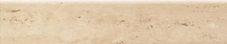 Travertine sokl 1 lesk 59,8x11,7