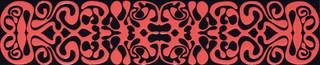 Colour black & red lišta 2A 59,3x12