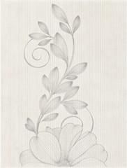 Stacatto bianco inserto kwiat 25x33,3