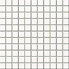 Colour white mozaika 30x30