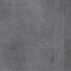 DCP3B697 Form tmavě šedá schodovka 33,3x33,3x0,8