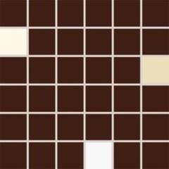 WDM05009 Concept Plus hnědá mix mozaika 4,7x4,7 30x30x0,7