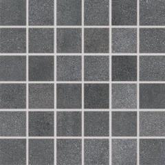DDM05697 Form tmavě šedá mozaika 4,8x4,8x0,8 30x30