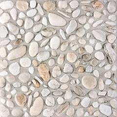 DAR3B700 Pebbles bílá dlaždice 33,3x33,3x0,8