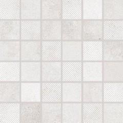 DDR05695 Form světle šedá mozaika 4,8x4,8x0,8 30x30