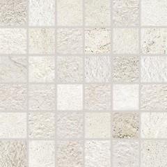 DDM05692 Como bílá mozaika 4,8x4,8x0,8 30x30