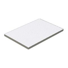 XPP57023 Pool bílá schodový stupeň - plochý 19,7x15x1