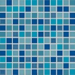 GDM02045-Pool modrá mozaika 30x30