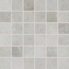 DDR05696 Form šedá mozaika 4,8x4,8x0,8 30x30