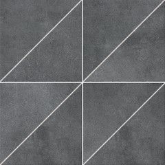 DDP3B697 Form tmavě šedá dekor 4ks 33,3x33,3x0,8