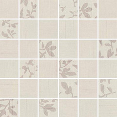 WDM05101 Textile slonová kost mix mozaika 4,7x4,7x0,7 30x30