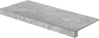 DCESE667 Stones šedá schodová tvarovka 29,8x59,8x1