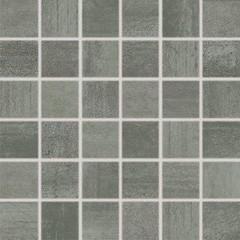 WDM06522 Rush tmavě šedá mozaika set 30x30 4,8x4,8x1