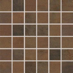 WDM06520 Rush tmavě hnědá mozaika set 30x30 4,8x4,8x1