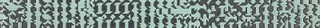 WLAN9091 Trinity tyrkysová listela 39,8x3,5x0,7