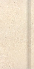 DCPSE668 Stones béžová schodovka 29,8x59,8x1