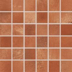 DDM05712 Via červeno-hnědá mozaika 4,8x4,8x0,8 30x30