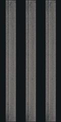 Bellicita nero inserto stripes 30x60