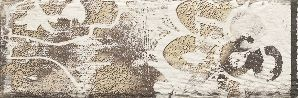 Rondoni bianco inserto struktura A 9,8x29,8