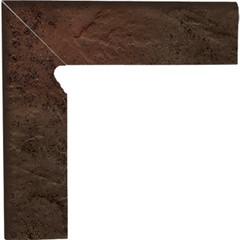 Semir brown levý sokl 2ks 30x8