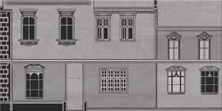 City grey inserto house B 29,7x60