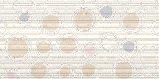 Hortis white inserto geo 29,7x60