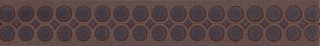 Optica brown border modern 5x35