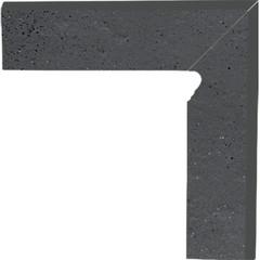 Semir grafit pravý sokl 2ks 30x8,1