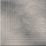 Solar grey steptread corner structure 30x30